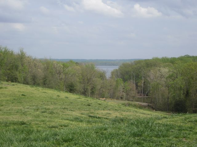 View from the back terraces of the Potomac River