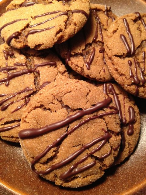 Modern Molasses Cookies - Alyssa D'Alconzo