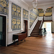 Staircase photo from www.gunstonhall.org