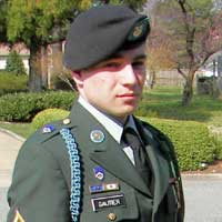 Corporal Aaron Gautier