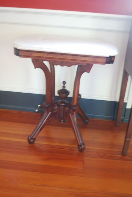 Marble Top End Table