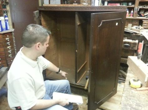 Jay with the Linen Press