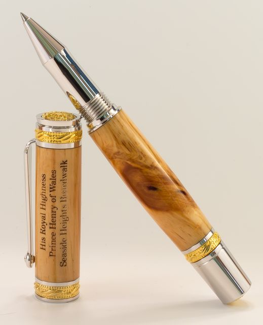 Pen created for His Royal Highness Prince Harry