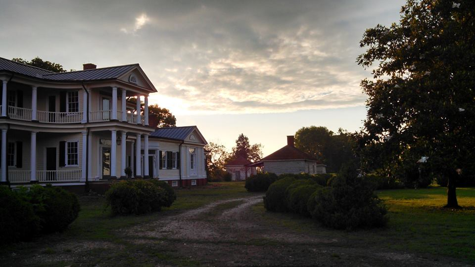 Sunset at Belle Grove by Tamara Riley