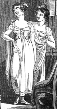 Regency Fashion - Underclothes