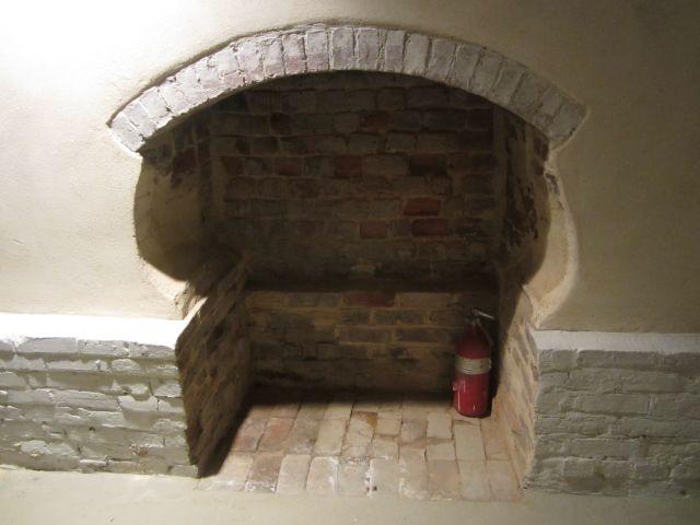 Winter Kitchen in the basement