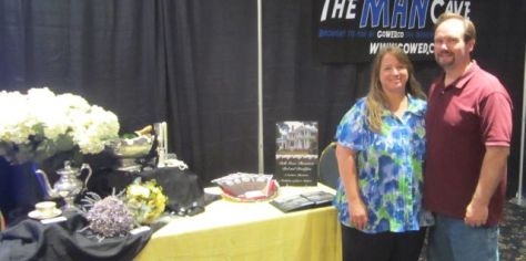 Our first Bridal Show Vendor Booth