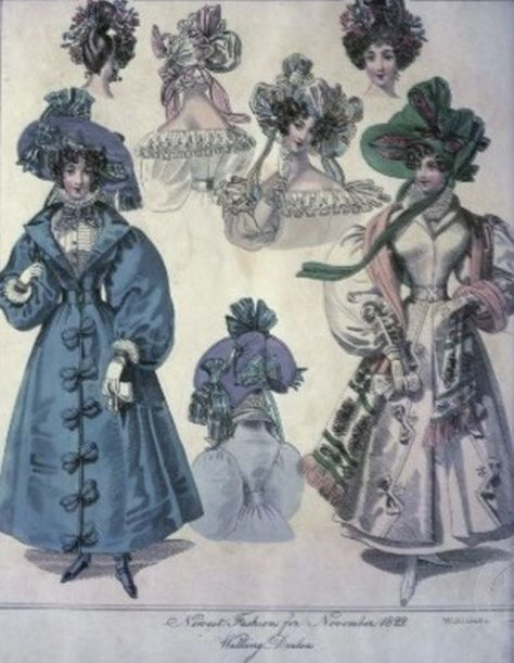 Outdoor Regency Fashion - 1800