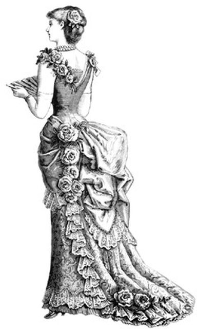 Women's Fashion in the Late 1800s