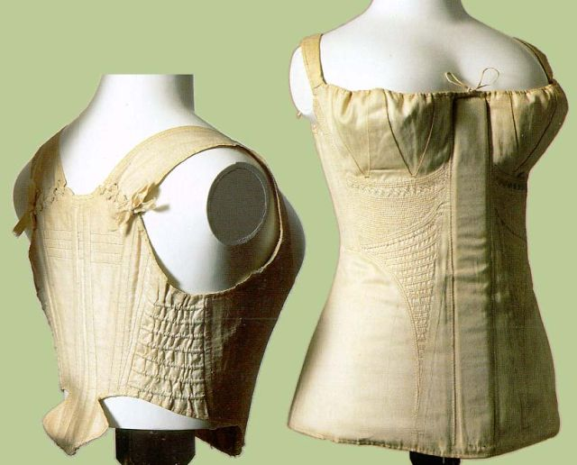 Regency Fashion - A lighter, more comfortable corset - 1819