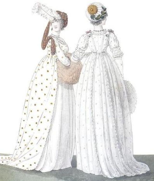 The Fashions Of Regency England