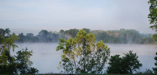 River Morning Mist small