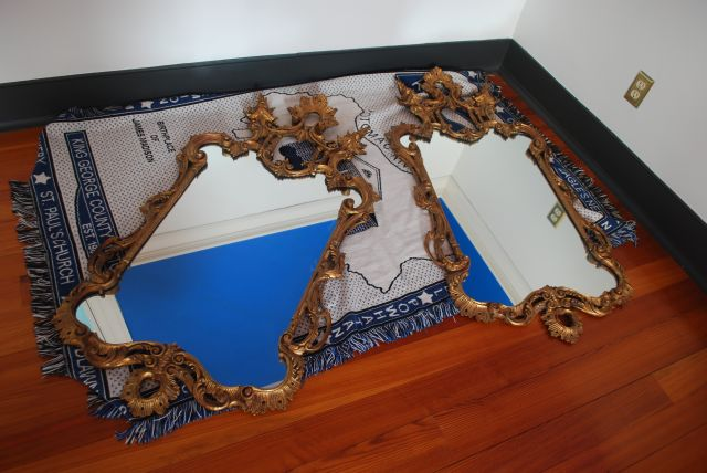 Two Gilded Mirrors