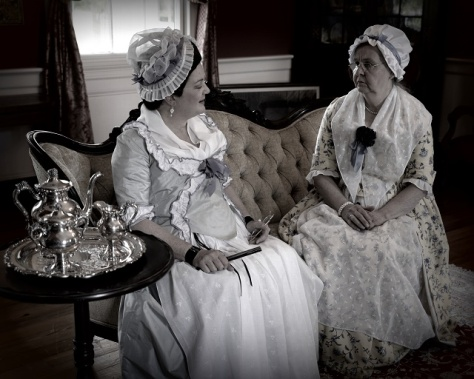Ladies in the Parlor