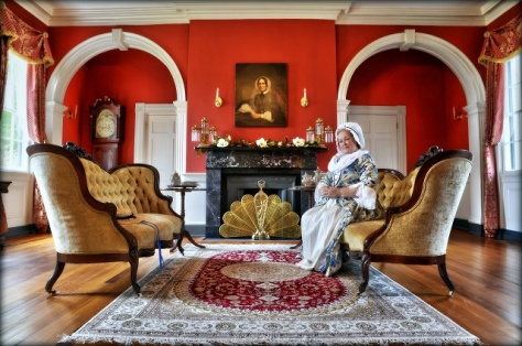 Martha in Parlor