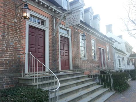 Brickhouse front porch
