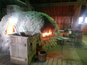 glass oven